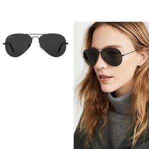 [Ray Ban] Aviator Classic Black RB3025